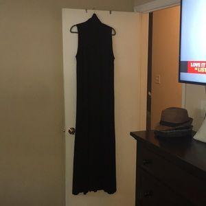 Beautiful black maxi dress by Rachel Pally
